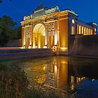 Menin Gate at Night by tinnieopener