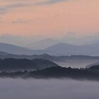 smoky mountain ridges by dc witmer