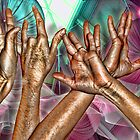 Hands at the Mall by GolemAura