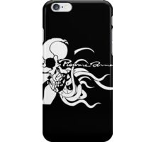 Metal Gear Solid 4 - Pieuvre Armement (White) iPhone Case/Skin