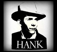 Hank Williams Sr. Black & White by jerry2011