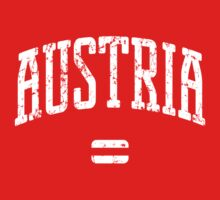 Austria (White Print) by smashtransit
