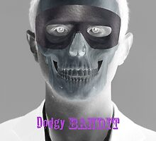 Dodgy Bandit Skully Purple by dodgybandit