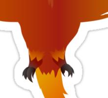 Cute Dumb Phoenix Sticker