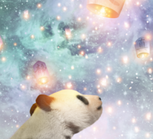 Let Your Dreams Take Flight • (Panda Dreams 2 / Color 2) Sticker