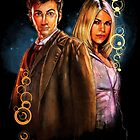 10th Doctor and Rose by Jon Pinto