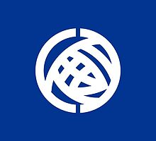 Flag of Ibaraki Prefecture, (1966-1991) by abbeyz71
