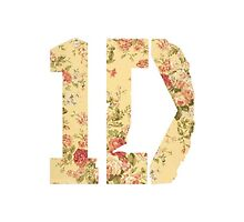 Floral One Direction Logo by emilysmithart