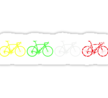Bike Stripes Tour de France Jerseys v2 Sticker