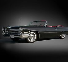 1968 Cadillac DeVille Convertible 'Studio' by DaveKoontz