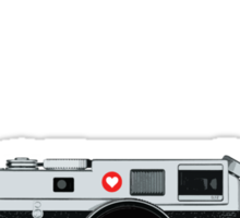 Love x x  Leica  Love x x Sticker
