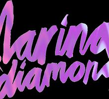 Marina and the Diamonds Logo by fuckinqash