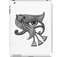 Eye of Horus (Tattoo Style Print) iPad Case/Skin