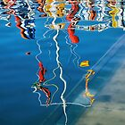 Wibbly Wobbly Flagpole Reflections by Susie Peek