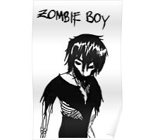 Zombie Boy Collection Poster