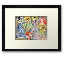 Saturday Night Fever Framed Print