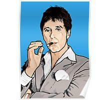 Al Pacino Scarface Pop Art  Poster