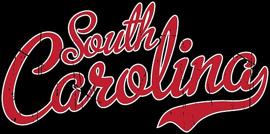 South Carolina Script Garnet VINTAGE by Carolina Swagger
