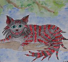 Cheshire Cat by Asha Hawkesworth