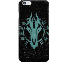 Darksiders Symbol (Blue) iPhone Case/Skin