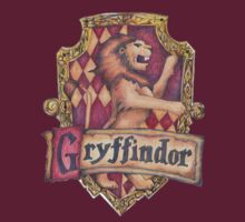 Gryffindor Crest by OverTheEdge42