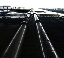 Parallel Pipes by Clayton Suares
