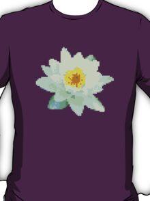 8bit lotus T-Shirt