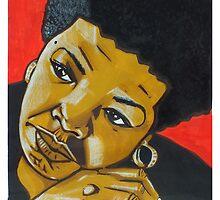 Tribute to Maya Angelou by BroBoze
