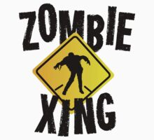 Zombie Crossing Xing by carolinaswagger