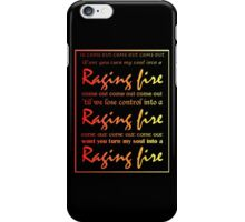 Phillip Phillips Raging Fire Lyrics iPhone Case/Skin