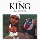 Lebron James - The king has returned  by whaleofatime