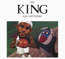 Lebron James - The king has returned  by whaleofatime