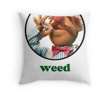 Weedish Chef Throw Pillow