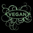 Cool Vegan Distressed Art by thepixelgarden