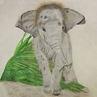 Baby Elephant, Too by aprilann