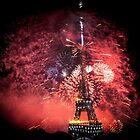 La Tour Eiffel : Vive La France! by Austen Risolvato