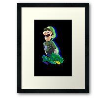 LUIGI TIME! Framed Print