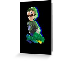 LUIGI TIME! Greeting Card