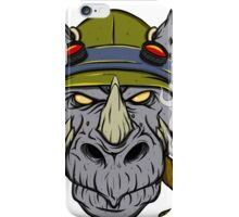 Rocksteady iPhone Case/Skin