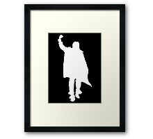 Bender Walking Framed Print