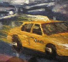 NYC taxi Yellow taxi by danielgomez