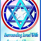 Support Israel-lettered by Lotacats