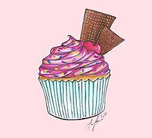 Cupcake Sundae by littlebluerenn