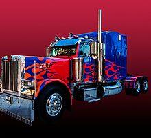 Optimus Prime 2 by Steve Purnell