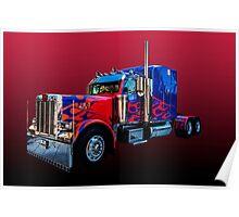 Optimus Prime 2 Poster