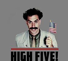 Borat - High Five! by Dylkel