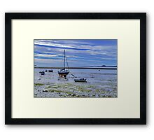 Awaiting The Tide Framed Print