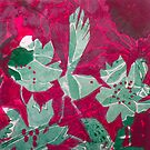 """Hot Pink Paradise by Belinda """"BillyLee"""" NYE (Printmaker)"""
