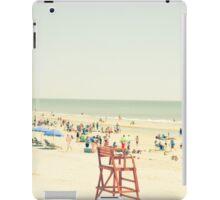 Summer Beach People iPad Case/Skin