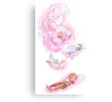 Rose's Petals Canvas Print